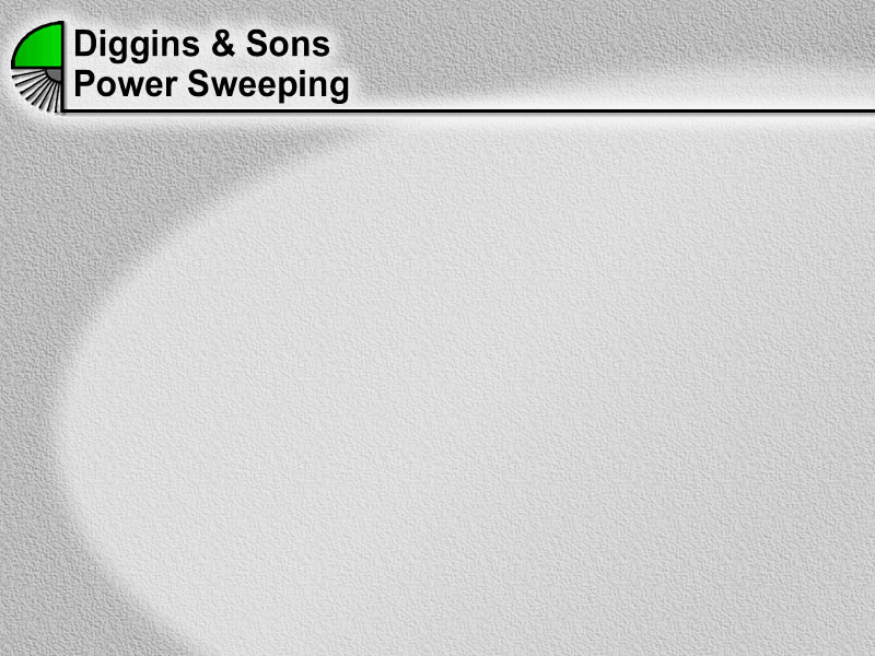 Diggins & Sons Power Sweeping